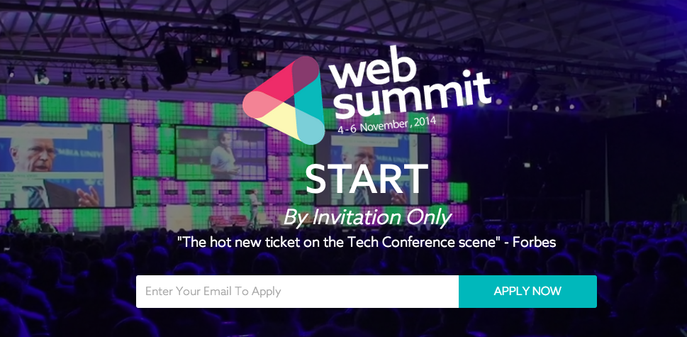 Zesty attends Web Summit 2014